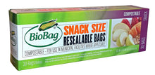 Load image into Gallery viewer, BioBag Compostable Resealable Bags - TREEHOUSE kid and craft