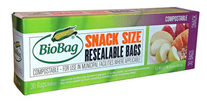 BioBag Compostable Resealable Bags - TREEHOUSE kid and craft