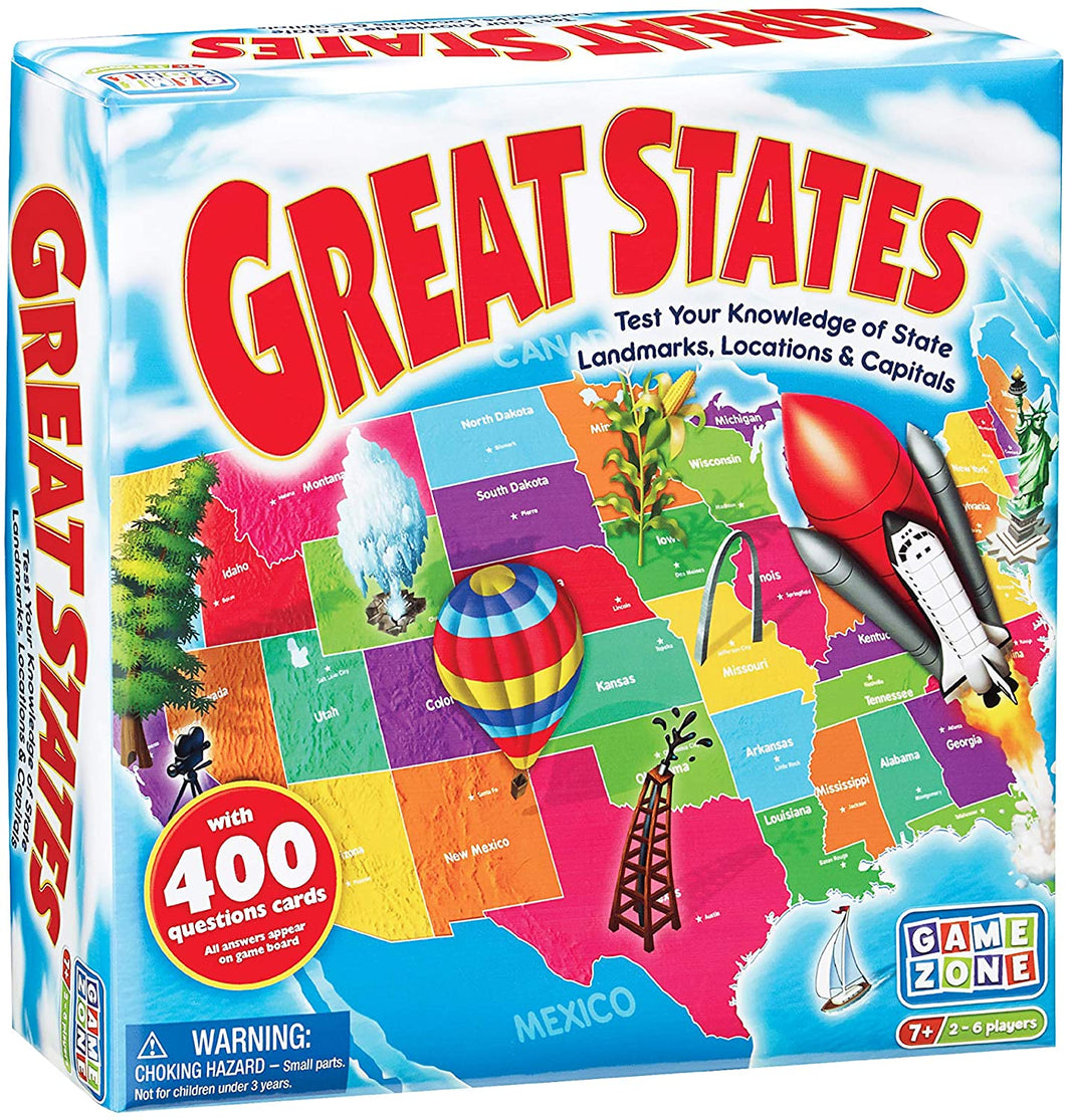 Great States - TREEHOUSE kid and craft