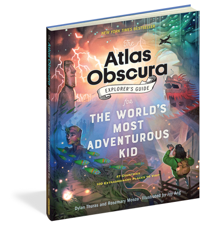 Atlas Obscura : Explorers Guide for The Worlds Most Adventurous Kid - TREEHOUSE kid and craft