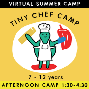 Tiny Chef - Virtual Summer Camp 2021 - TREEHOUSE kid and craft