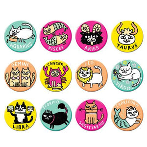 Catstrology Buttons - TREEHOUSE kid and craft