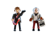 Load image into Gallery viewer, Back to the Future Marty Mcfly and Dr. Emmett Brown - TREEHOUSE kid and craft