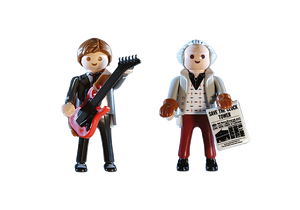 Back to the Future Marty Mcfly and Dr. Emmett Brown - TREEHOUSE kid and craft