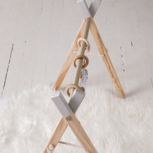 Load image into Gallery viewer, Wooden Activity Gym for Babies - TREEHOUSE kid and craft