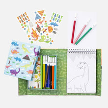 Load image into Gallery viewer, Dinosaur - Colouring Set - TREEHOUSE kid and craft