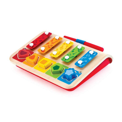 Shape Sorter Xylophone - TREEHOUSE kid and craft