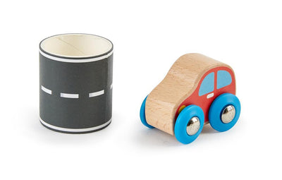Tape and Roll Car - TREEHOUSE kid and craft