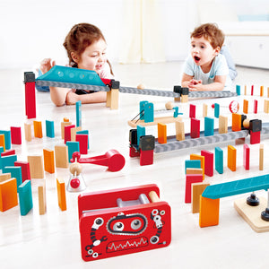 Robot Factory Domino - TREEHOUSE kid and craft