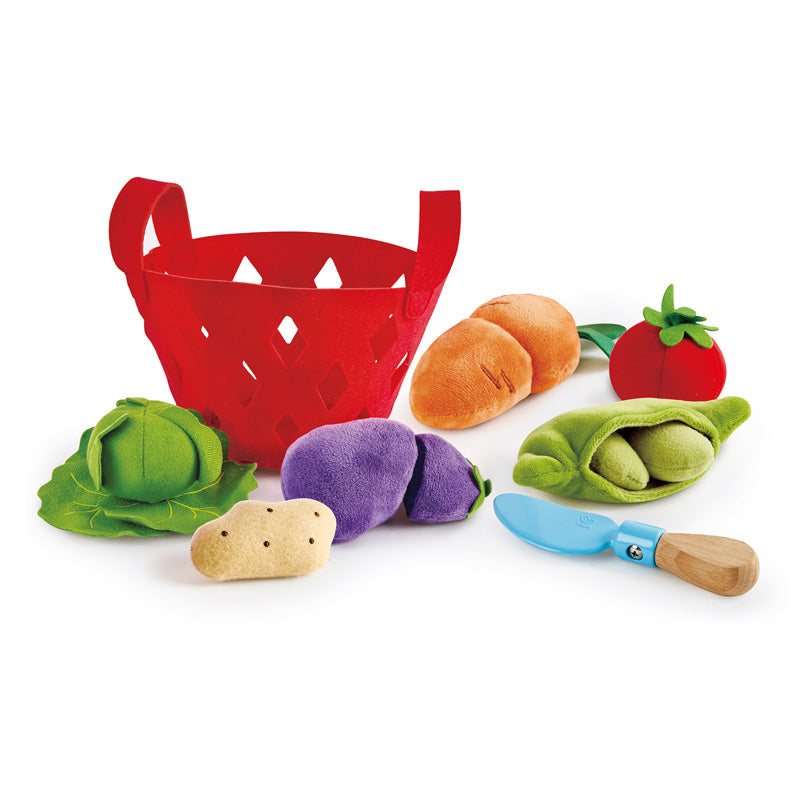 Toddler Vegetable Basket - TREEHOUSE kid and craft