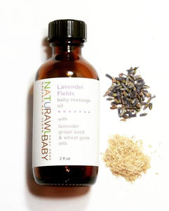 Naturawl Baby Lavender Fields Baby Massage Oil - TREEHOUSE kid and craft