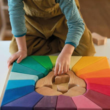 Load image into Gallery viewer, Grimms Rainbow Set Building Lion - TREEHOUSE kid and craft