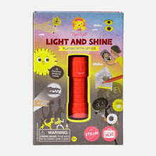 Load image into Gallery viewer, Light and Shine - Playing with Optics - TREEHOUSE kid and craft