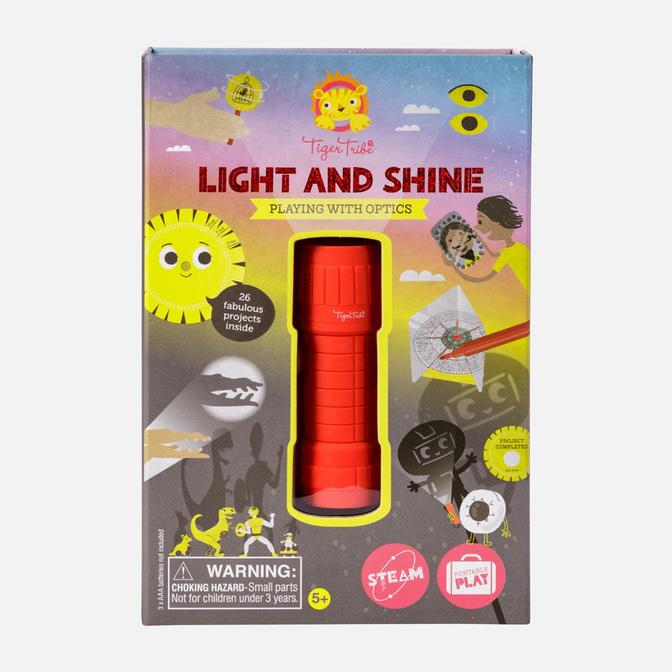Light and Shine - Playing with Optics - TREEHOUSE kid and craft