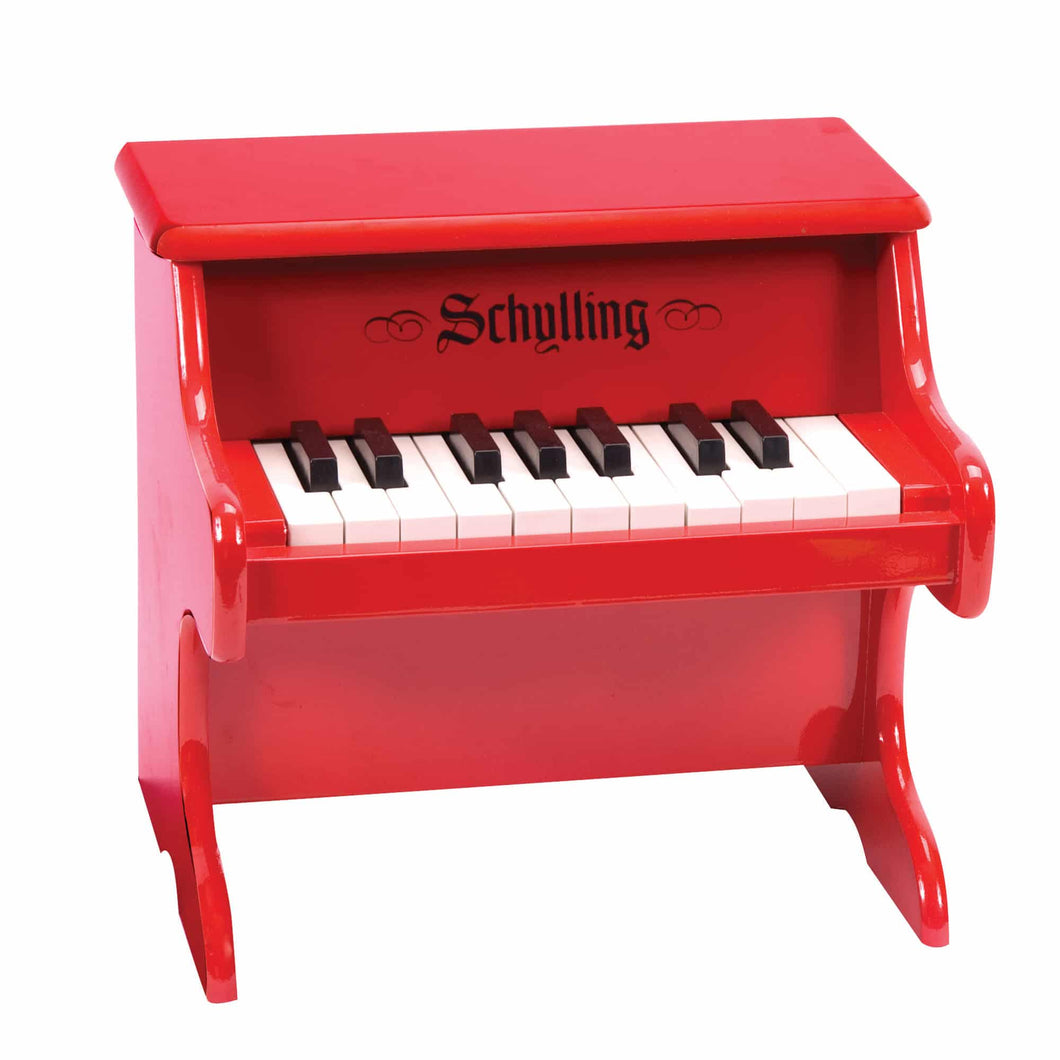 Mini Red Piano - TREEHOUSE kid and craft