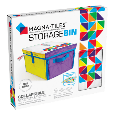 Magnatiles Storage Bin - TREEHOUSE kid and craft