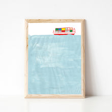Load image into Gallery viewer, Paper Ghost Press - In The Same Boat - Art Print - TREEHOUSE kid and craft