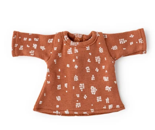 Fawn Spots Shirt for Dolls - TREEHOUSE kid and craft