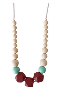 The Lacey Teether Necklace - TREEHOUSE kid and craft