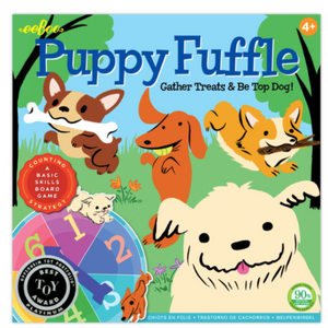 Puppy Fuffle Board Game - TREEHOUSE kid and craft