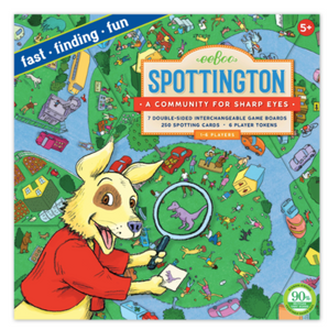 Spottington Board Game - TREEHOUSE kid and craft