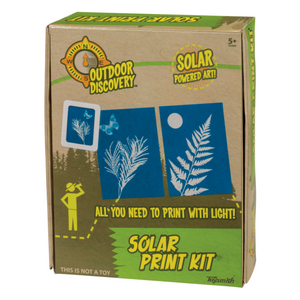 Solar Print Paper - TREEHOUSE kid and craft