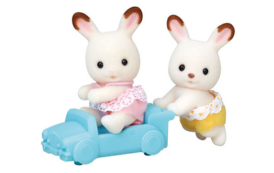 Hopscotch Rabbit Twins - TREEHOUSE kid and craft