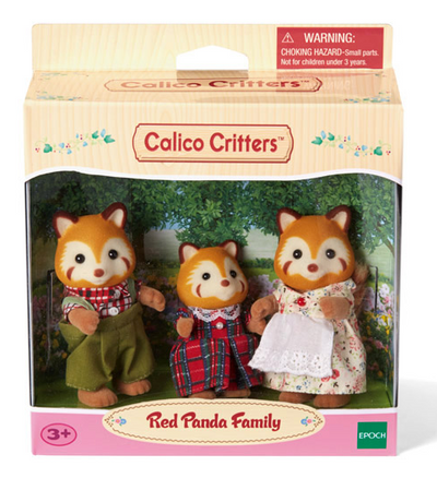 Red Panda Family - TREEHOUSE kid and craft