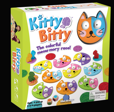 Kitty Bitty: Colorful Meow-mory Race