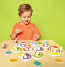 Load image into Gallery viewer, Kitty Bitty: Colorful Meow-mory Race - TREEHOUSE kid and craft