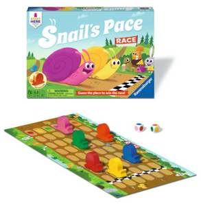 Snail's Pace Race - TREEHOUSE kid and craft