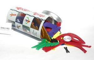 Shapescapes Rockets and Racers | Sculpture in a Box - TREEHOUSE kid and craft