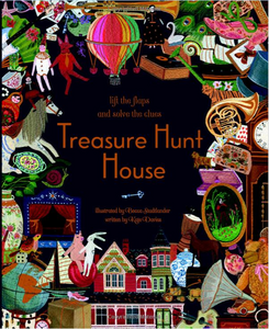 Treasure Hunt House: Lift the Flaps and Solve the Clues