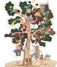 Load image into Gallery viewer, My Tree Reversible Puzzle by Londji - TREEHOUSE kid and craft