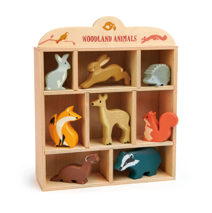 Woodland Animals - TREEHOUSE kid and craft