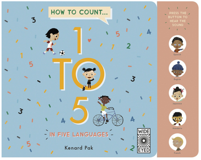 How to Count 1 to 5 in Five Languages - TREEHOUSE kid and craft