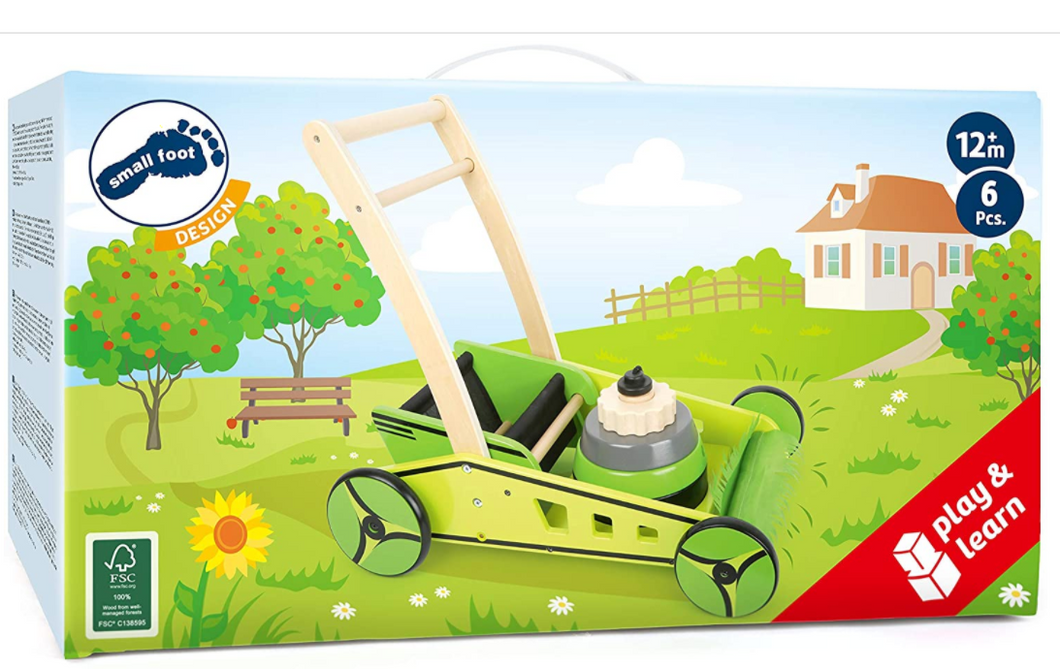 Lawn Mower Baby Walker - TREEHOUSE kid and craft
