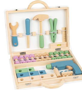 Small Foot Design Nordic Wood Toolbox - TREEHOUSE kid and craft