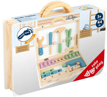 Load image into Gallery viewer, Small Foot Design Nordic Wood Toolbox - TREEHOUSE kid and craft