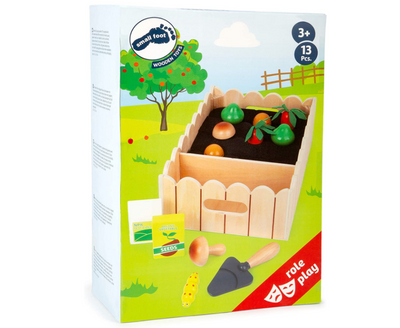 Vegetable Garden Incl. Play Set - TREEHOUSE kid and craft