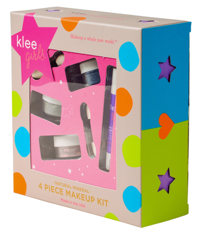 4 Piece Natural Makeup Kit - Shining Through - TREEHOUSE kid and craft