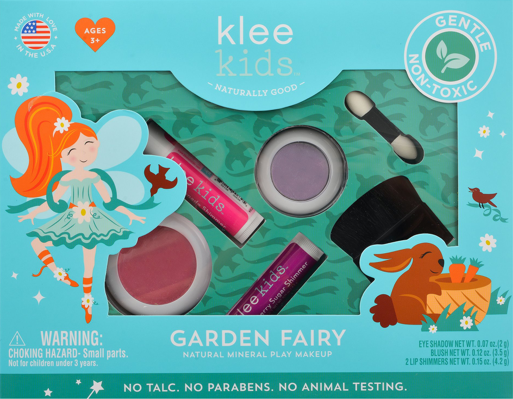 Garden Fairy Mineral Play Makeup - TREEHOUSE kid and craft