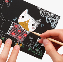 Load image into Gallery viewer, Scratch and Scribble Mini Kit - TREEHOUSE kid and craft