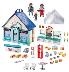 Playmobil Take Along Diner - TREEHOUSE kid and craft