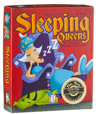 Sleeping Queens Game - TREEHOUSE kid and craft