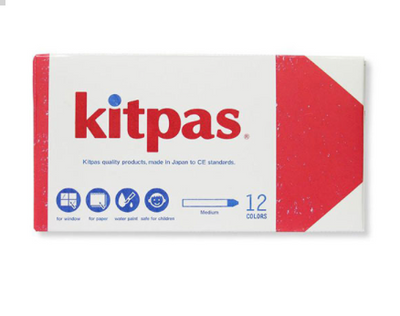 Kitpas Crayon Medium / 12 colors
