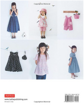 Load image into Gallery viewer, Girls Style Book: [Sewing Book, 24 Patterns] - TREEHOUSE kid and craft