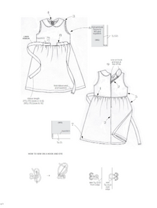 Girls Style Book: [Sewing Book, 24 Patterns] - TREEHOUSE kid and craft