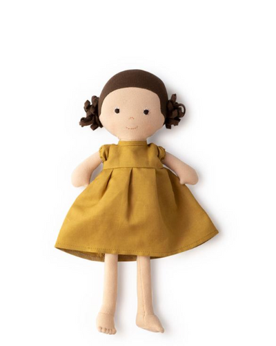 Louise Doll in Honey Dress - TREEHOUSE kid and craft