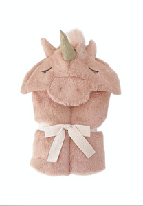 Plush Hooded Unicorn Blanket - TREEHOUSE kid and craft